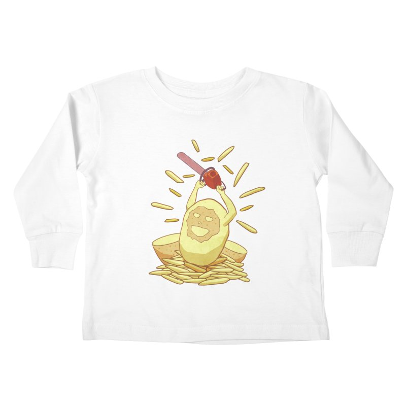 Extra Fries Kids Toddler Longsleeve T-Shirt by jussikarro's Artist Shop