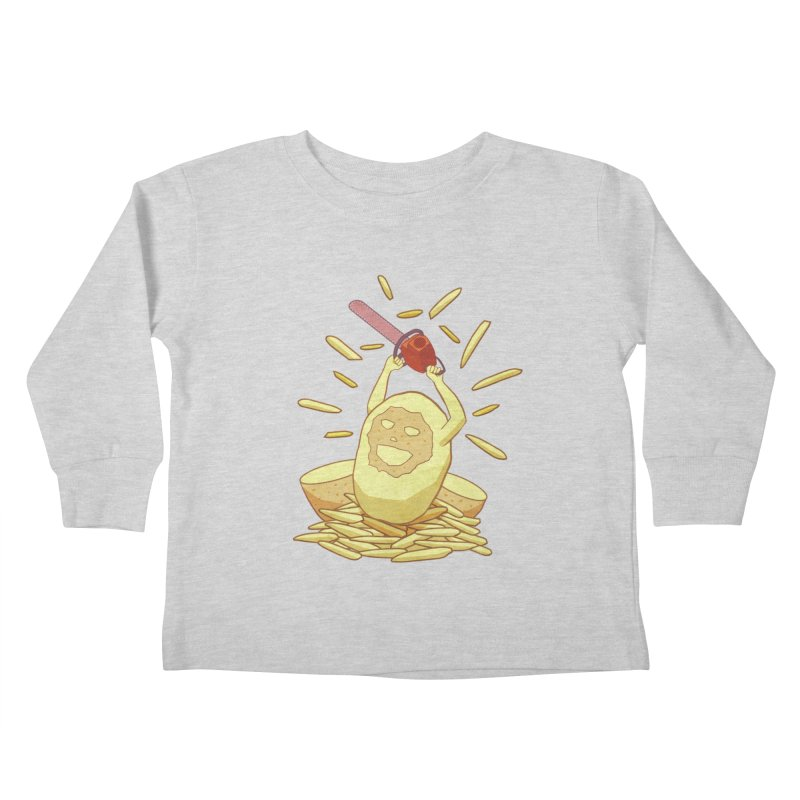 Extra Fries Kids Toddler Longsleeve T-Shirt by jussikarro's Artist Shop