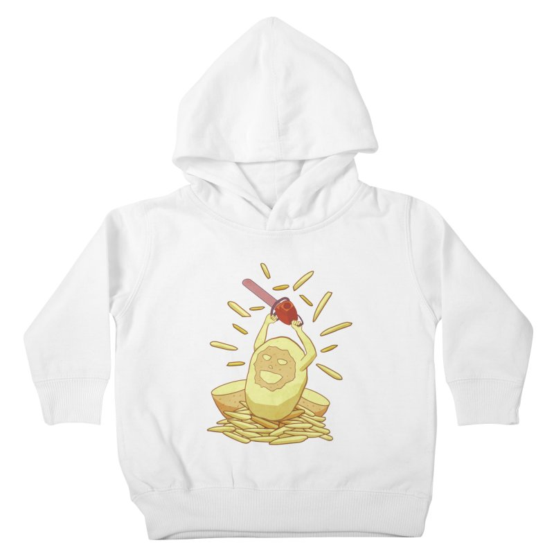 Extra Fries Kids Toddler Pullover Hoody by jussikarro's Artist Shop
