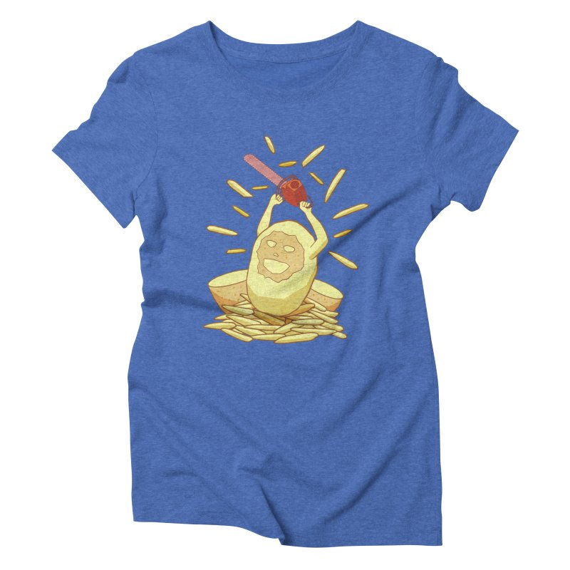 Extra Fries Women's Triblend T-shirt by jussikarro's Artist Shop