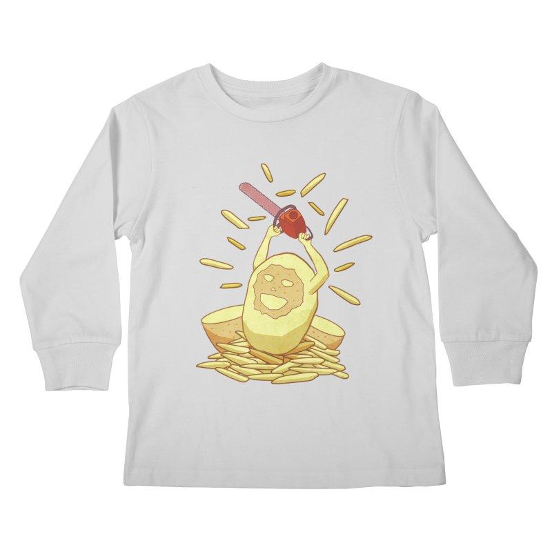 Extra Fries Kids Longsleeve T-Shirt by jussikarro's Artist Shop