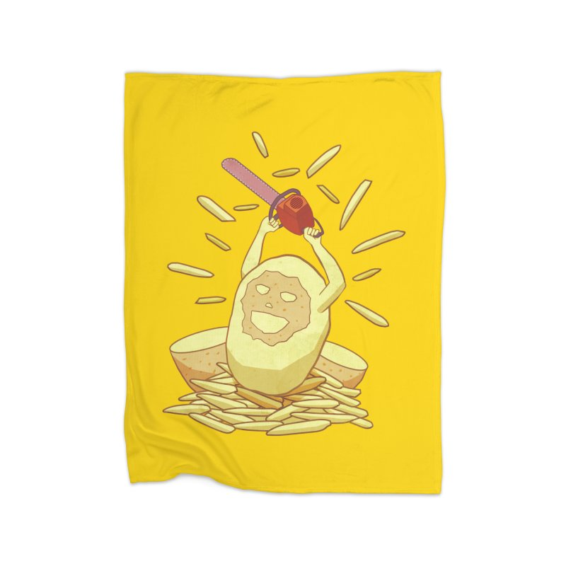 Extra Fries Home Blanket by jussikarro's Artist Shop