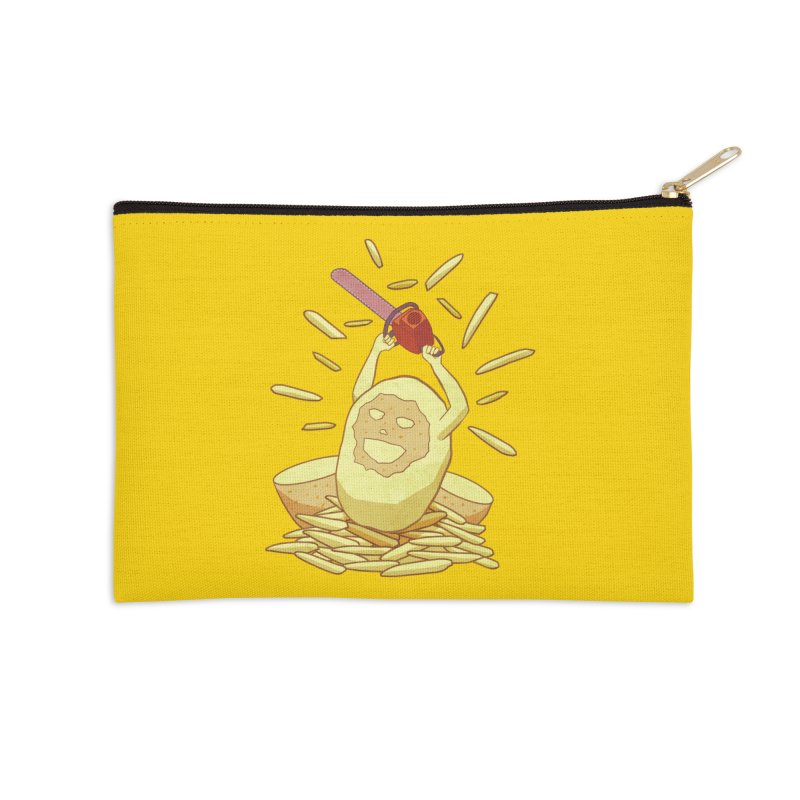 Extra Fries Accessories Zip Pouch by jussikarro's Artist Shop