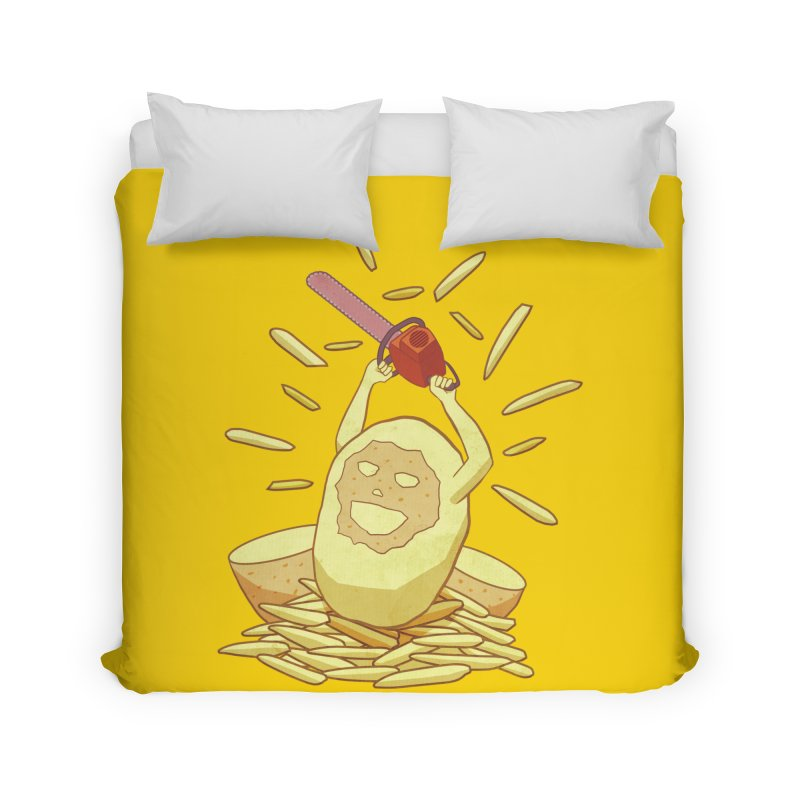 Extra Fries Home Duvet by jussikarro's Artist Shop