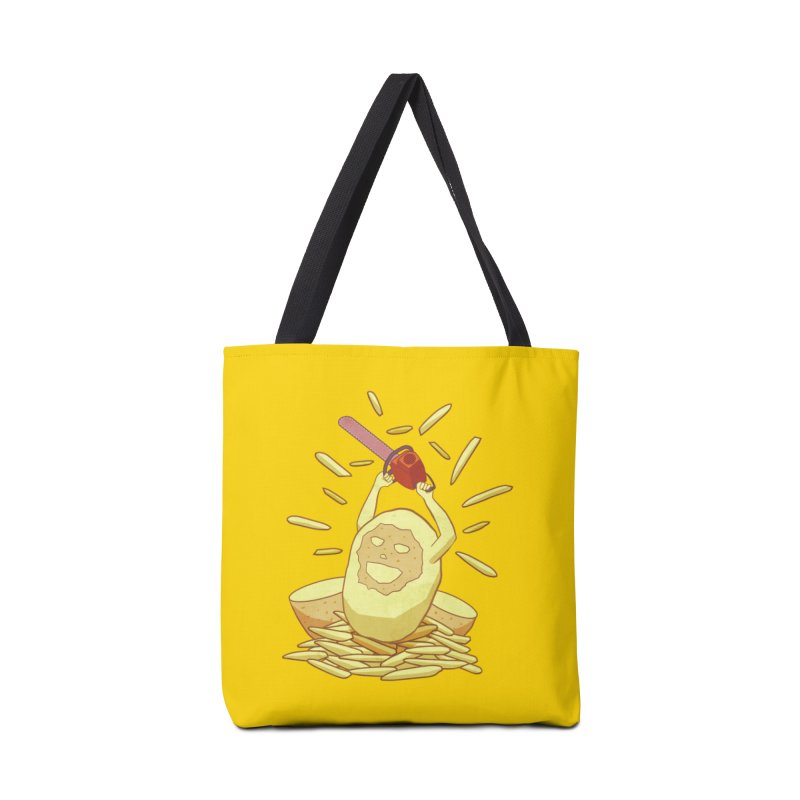 Extra Fries Accessories Bag by jussikarro's Artist Shop