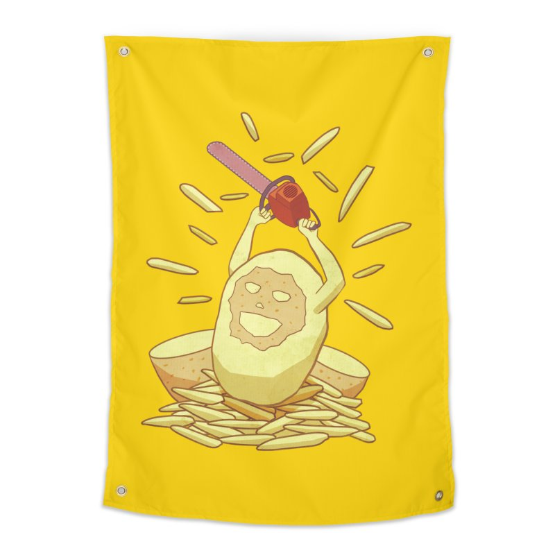 Extra Fries Home Tapestry by jussikarro's Artist Shop