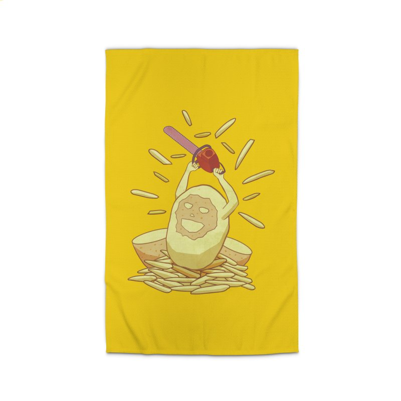 Extra Fries Home Rug by jussikarro's Artist Shop