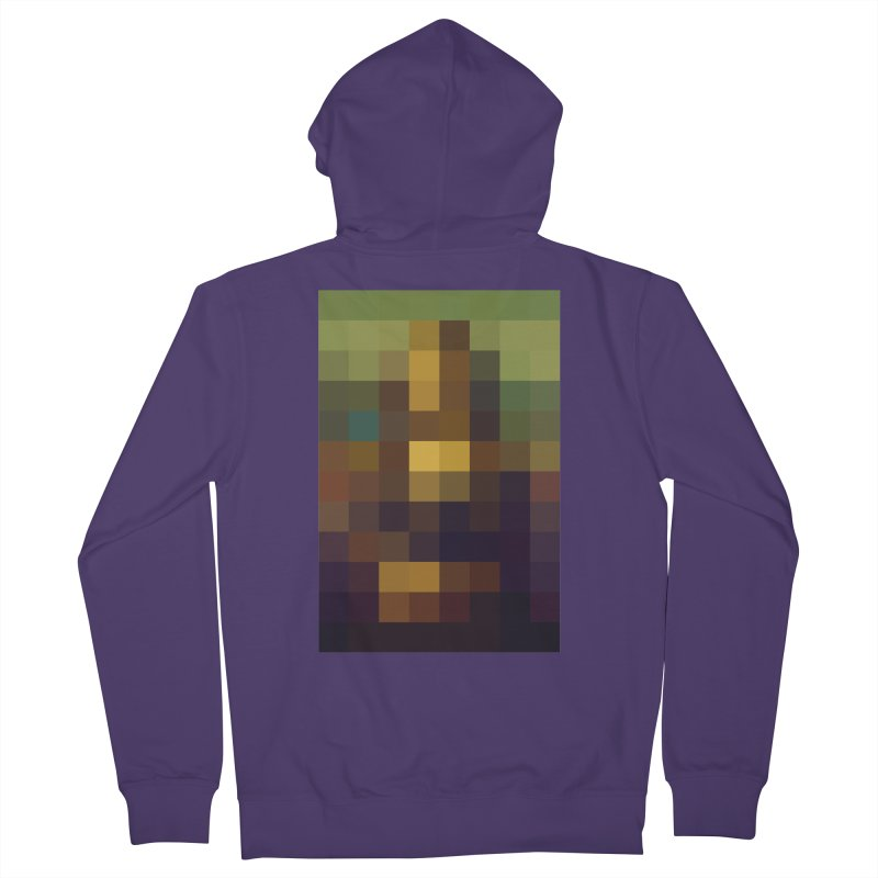 Pixel Art Women's Zip-Up Hoody by jussikarro's Artist Shop