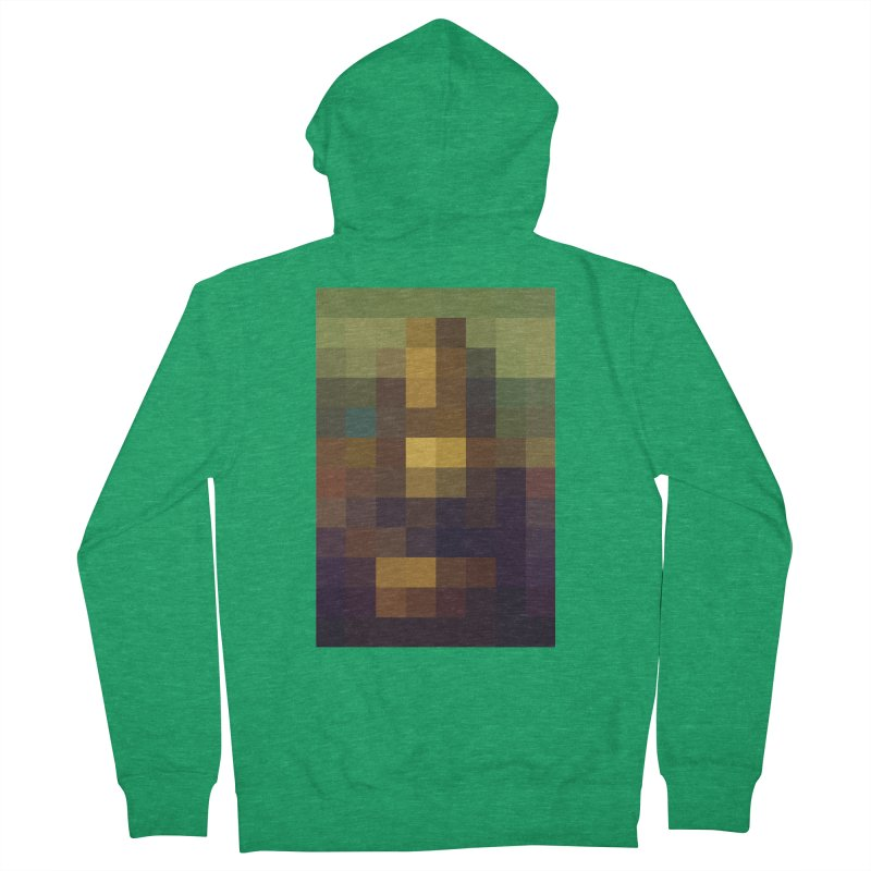 Pixel Art Men's Zip-Up Hoody by jussikarro's Artist Shop