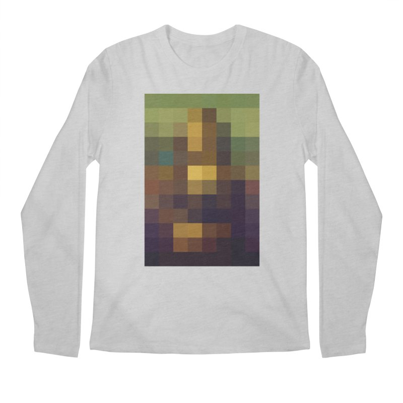Pixel Art Men's Longsleeve T-Shirt by jussikarro's Artist Shop