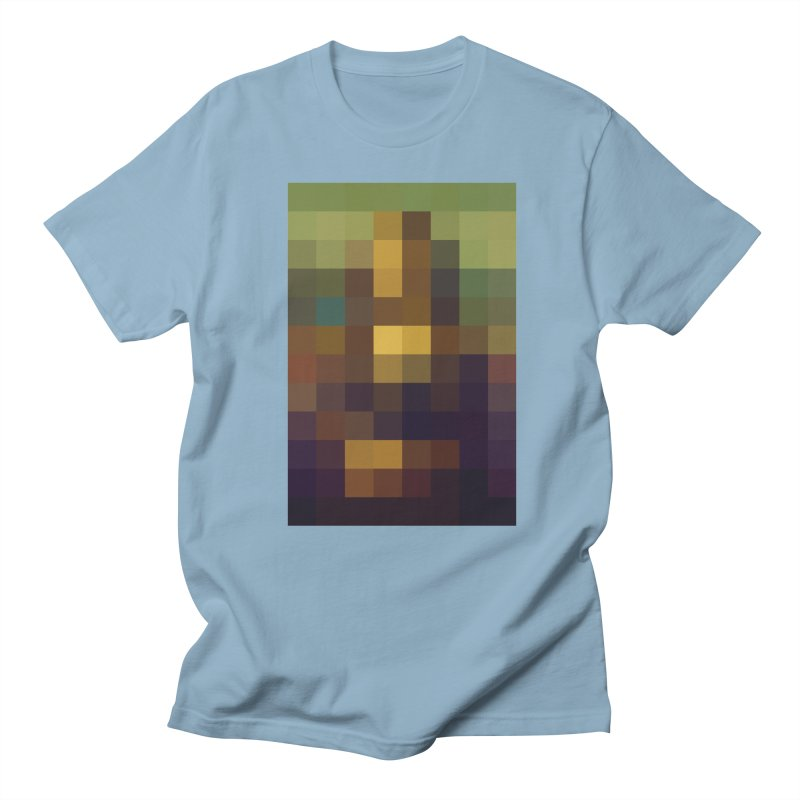 Pixel Art Men's T-shirt by jussikarro's Artist Shop