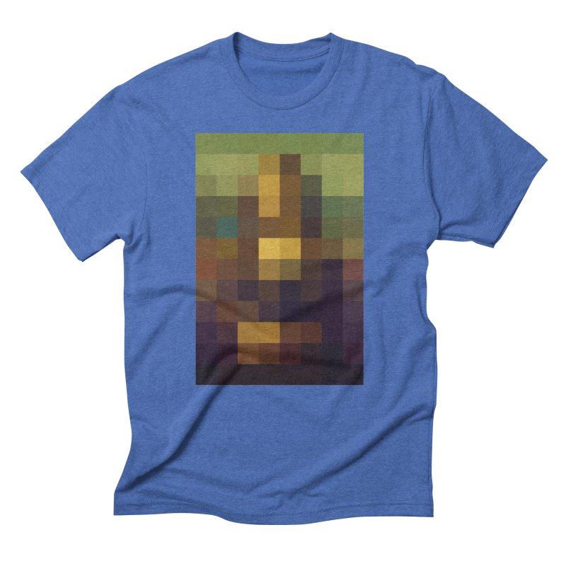 Pixel Art Men's Triblend T-Shirt by jussikarro's Artist Shop