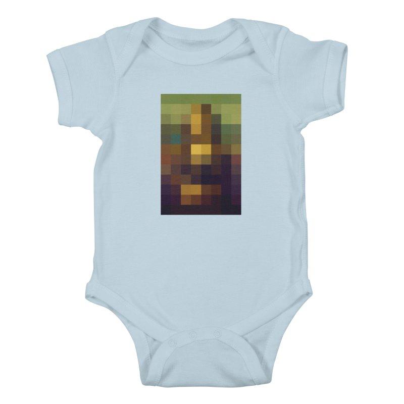 Pixel Art Kids Baby Bodysuit by jussikarro's Artist Shop