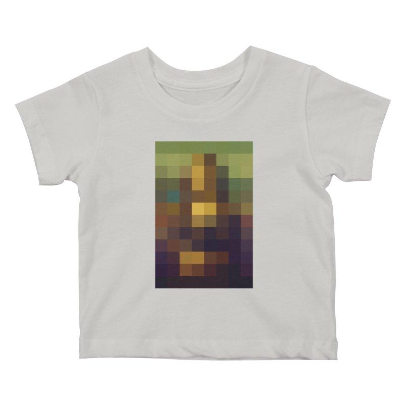 Pixel Art Kids Baby T-Shirt by jussikarro's Artist Shop