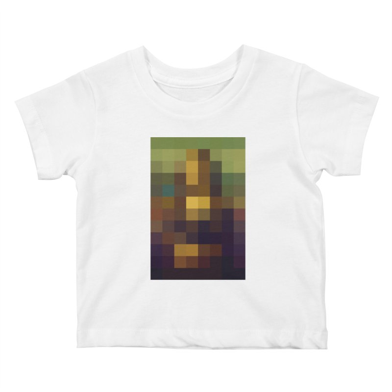 Pixel Art Kids Baby T-Shirt by jussikarro's Artist Shop