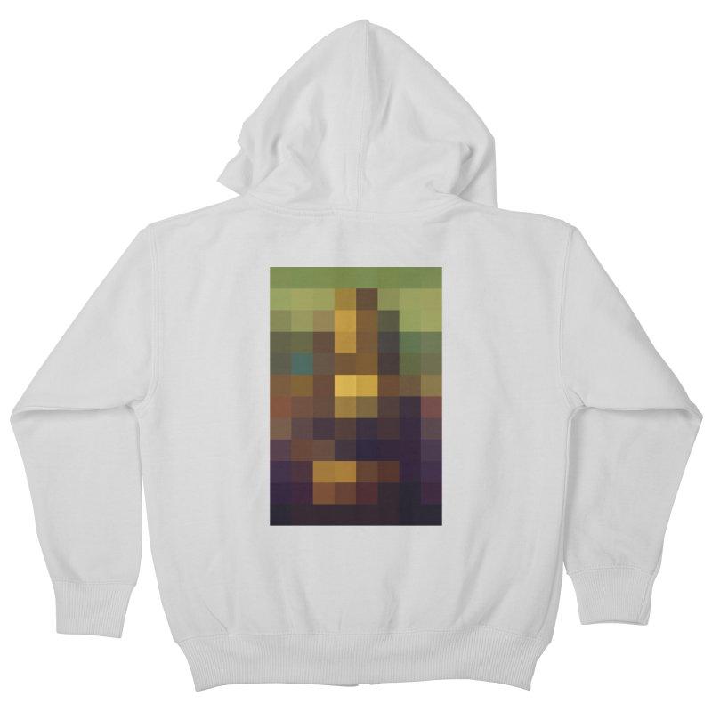 Pixel Art Kids Zip-Up Hoody by jussikarro's Artist Shop