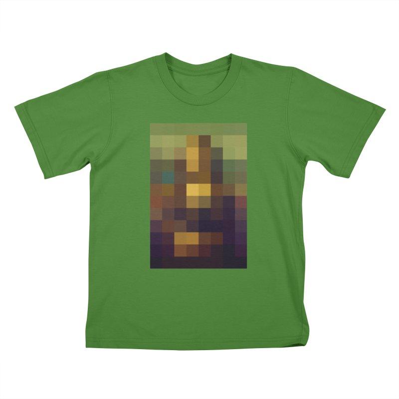 Pixel Art Kids T-shirt by jussikarro's Artist Shop