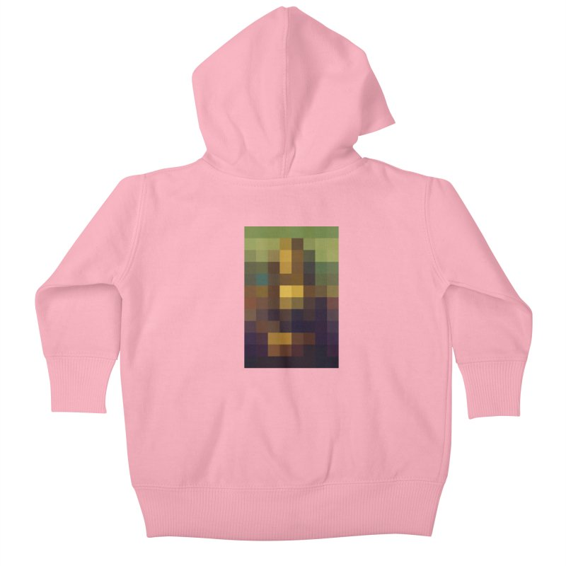 Pixel Art Kids Baby Zip-Up Hoody by jussikarro's Artist Shop