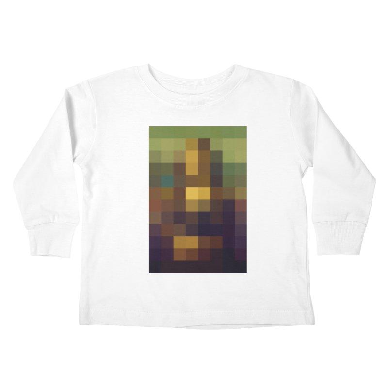 Pixel Art Kids Toddler Longsleeve T-Shirt by jussikarro's Artist Shop