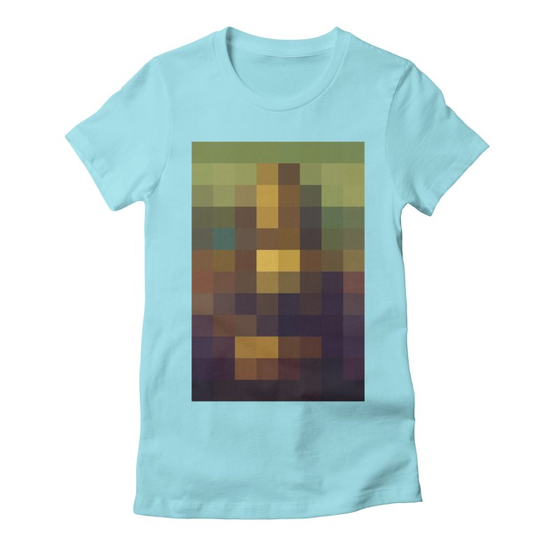 Pixel Art Women's Fitted T-Shirt by jussikarro's Artist Shop