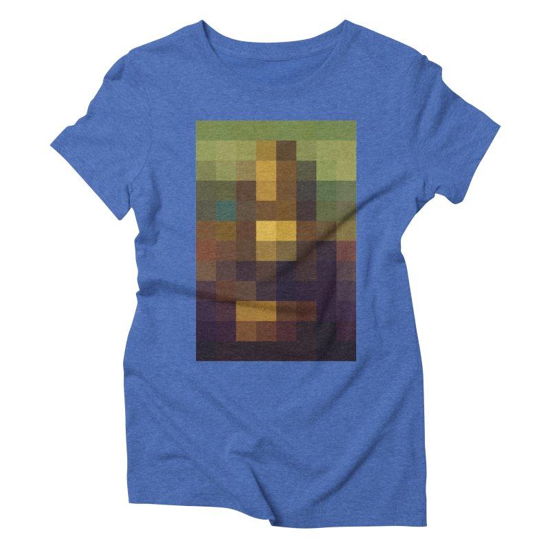 Pixel Art Women's Triblend T-shirt by jussikarro's Artist Shop