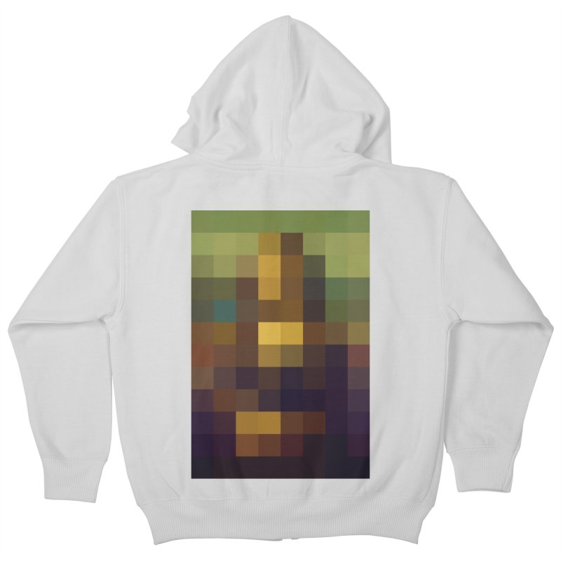 Pixel Art Kids Zip-Up Hoody by jussikarro's Artist Shop