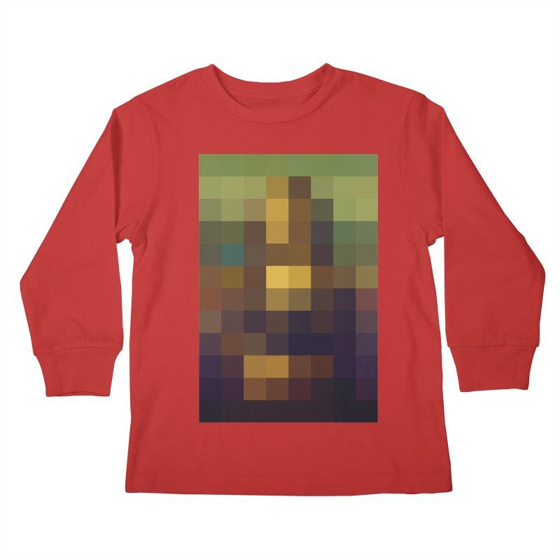 Pixel Art Kids Longsleeve T-Shirt by jussikarro's Artist Shop