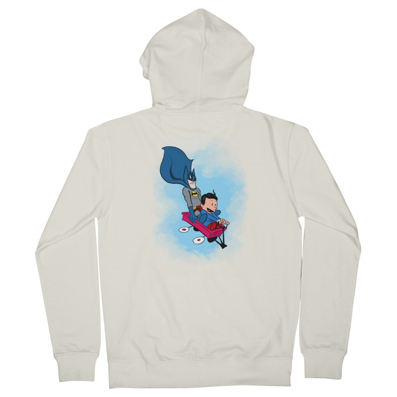 Super friends! Men's Zip-Up Hoody by jussikarro's Artist Shop