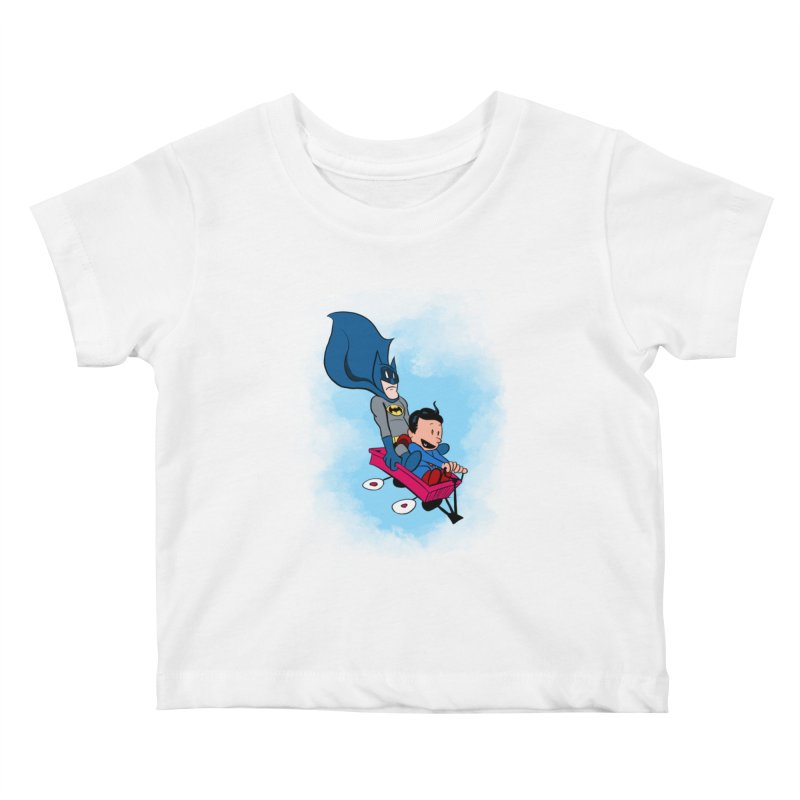 Super friends! Kids Baby T-Shirt by jussikarro's Artist Shop