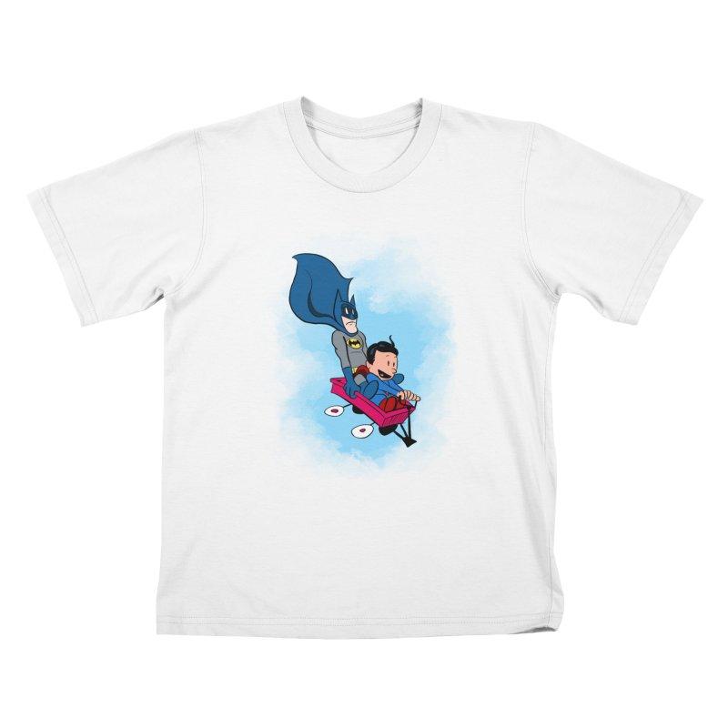 Super friends! Kids T-shirt by jussikarro's Artist Shop