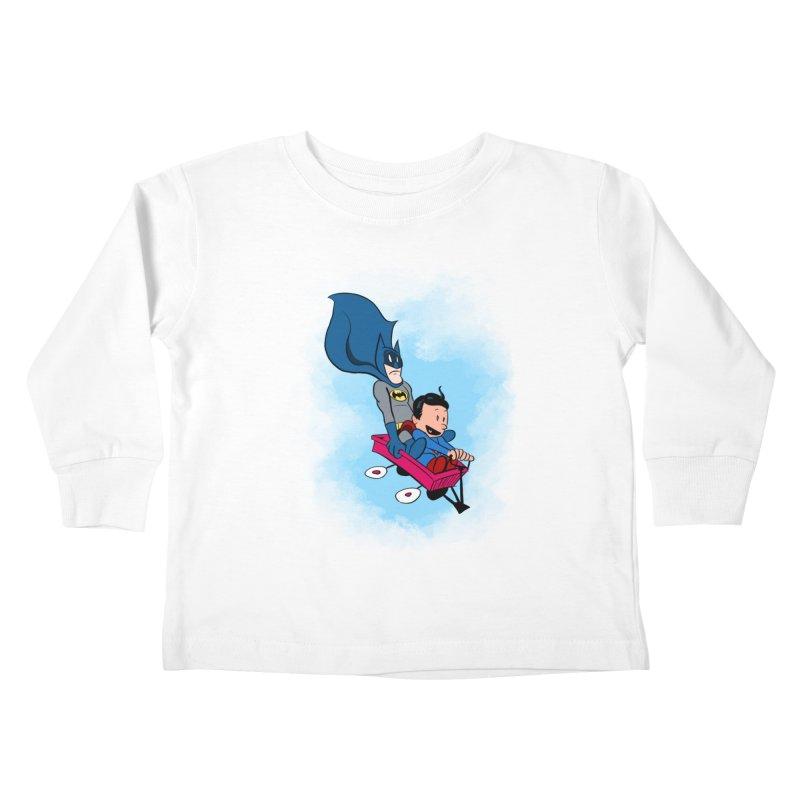 Super friends! Kids Toddler Longsleeve T-Shirt by jussikarro's Artist Shop
