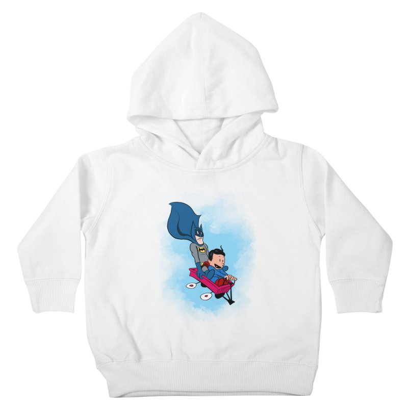 Super friends! Kids Toddler Pullover Hoody by jussikarro's Artist Shop