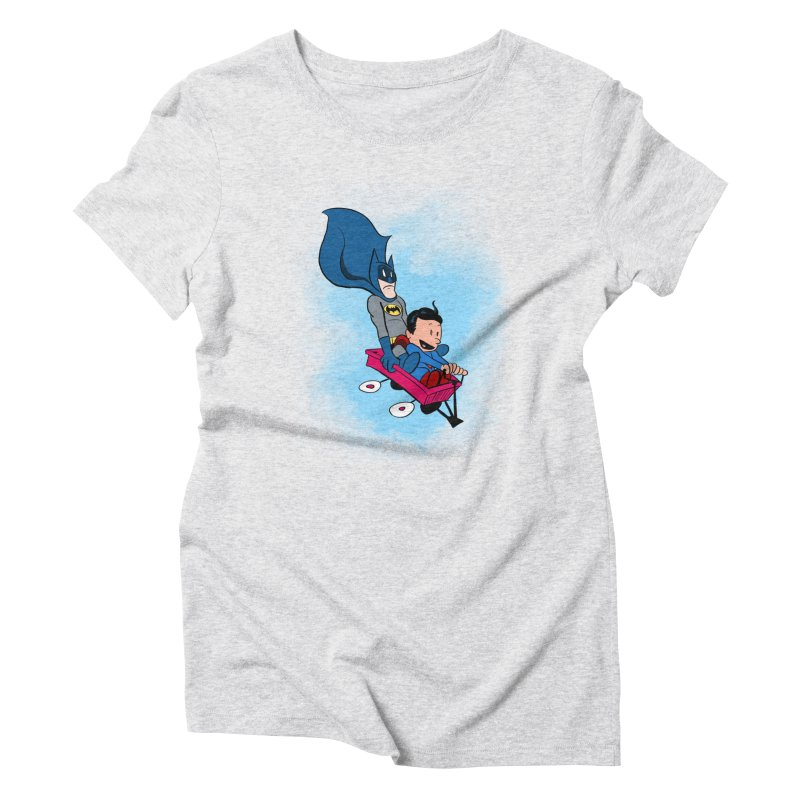Super friends! Women's Triblend T-Shirt by jussikarro's Artist Shop