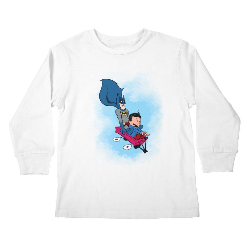 Super friends! Kids Longsleeve T-Shirt by jussikarro's Artist Shop