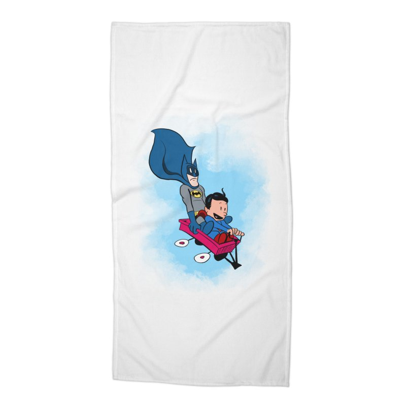 Super friends! Accessories Beach Towel by jussikarro's Artist Shop