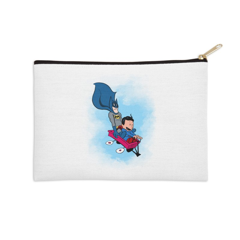 Super friends! Accessories Zip Pouch by jussikarro's Artist Shop