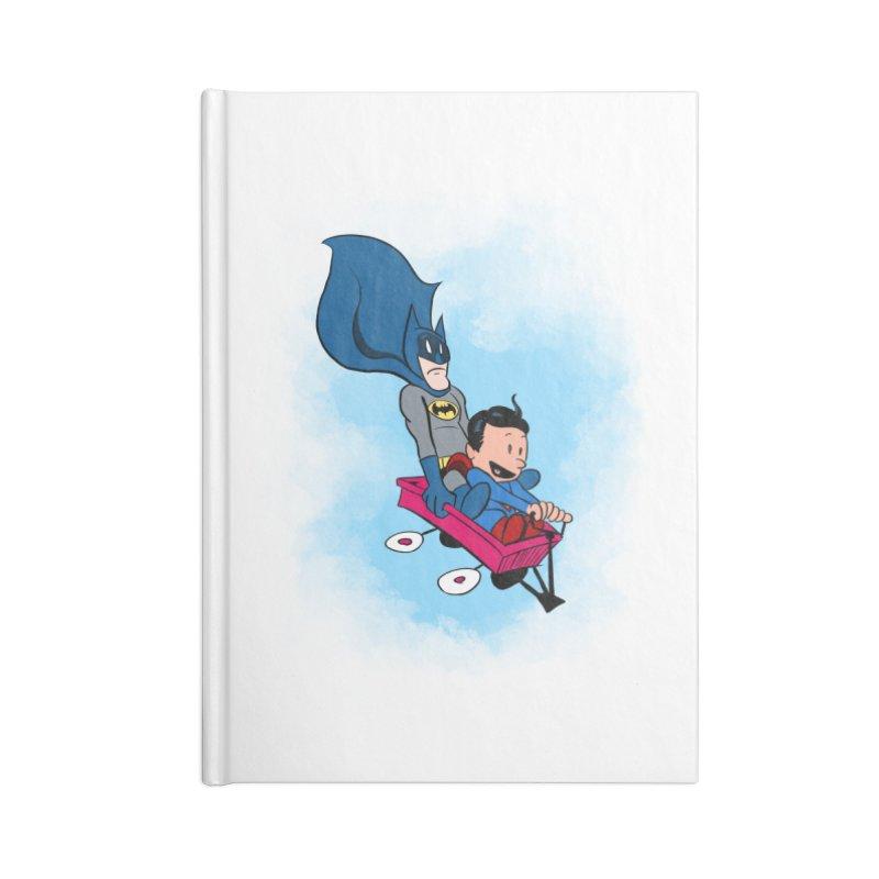 Super friends! Accessories Notebook by jussikarro's Artist Shop