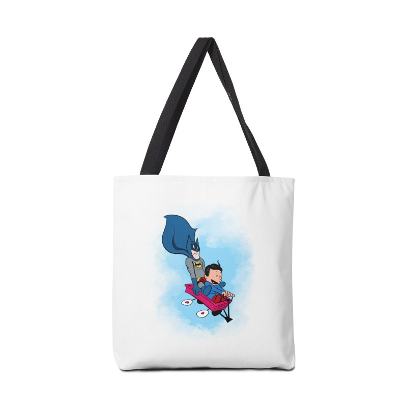 Super friends! Accessories Bag by jussikarro's Artist Shop