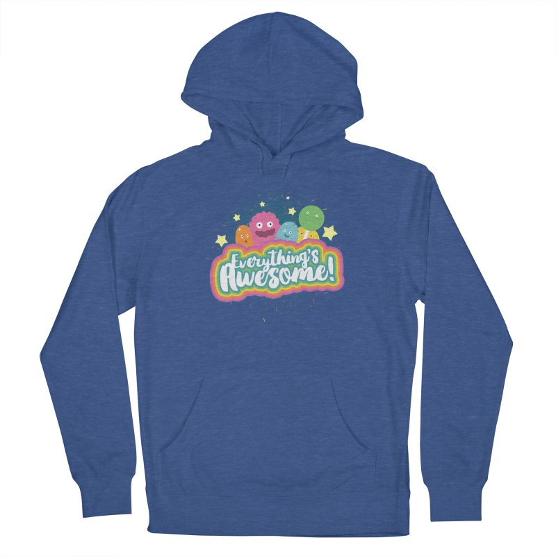 Everything's Awesome! Men's Pullover Hoody by jussikarro's Artist Shop