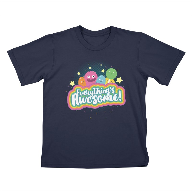 Everything's Awesome! Kids T-shirt by jussikarro's Artist Shop