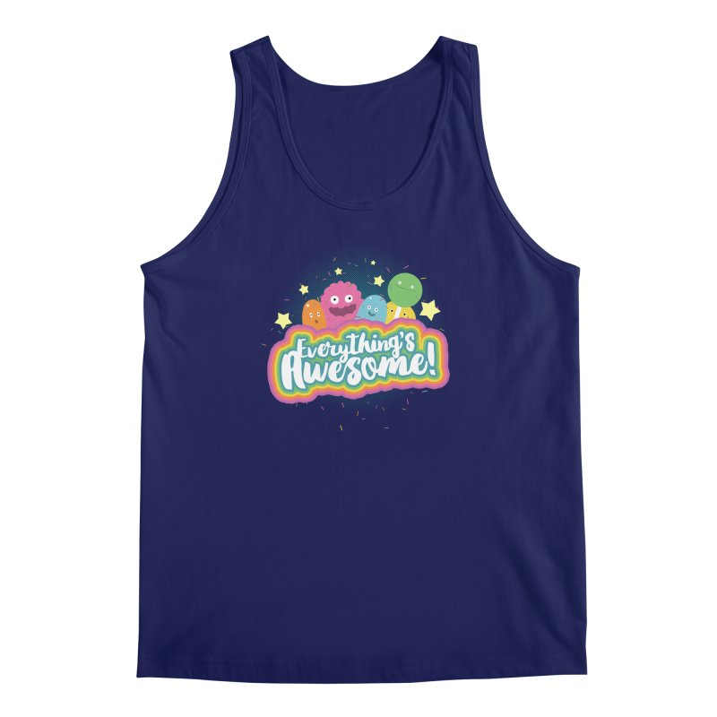 Everything's Awesome! Men's Tank by jussikarro's Artist Shop