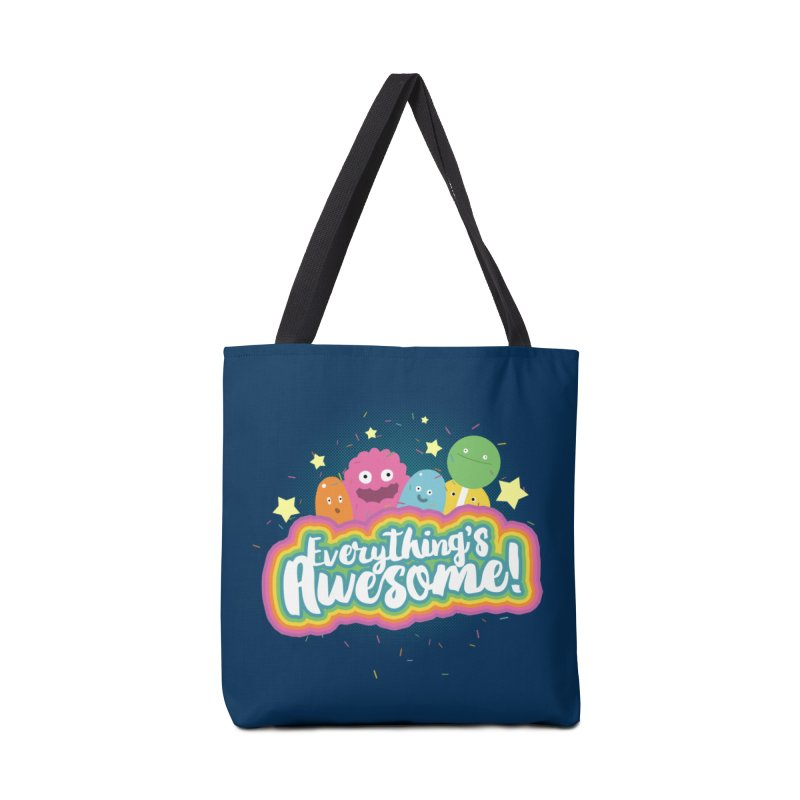 Everything's Awesome! Accessories Bag by jussikarro's Artist Shop