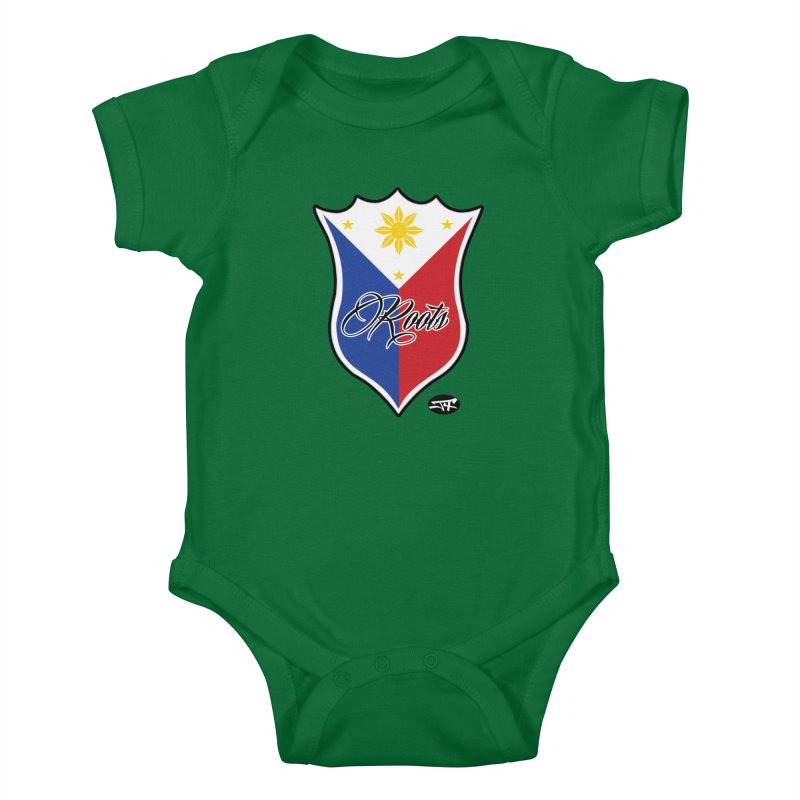 Roots Kids Baby Bodysuit by Just4Fun Unlimited