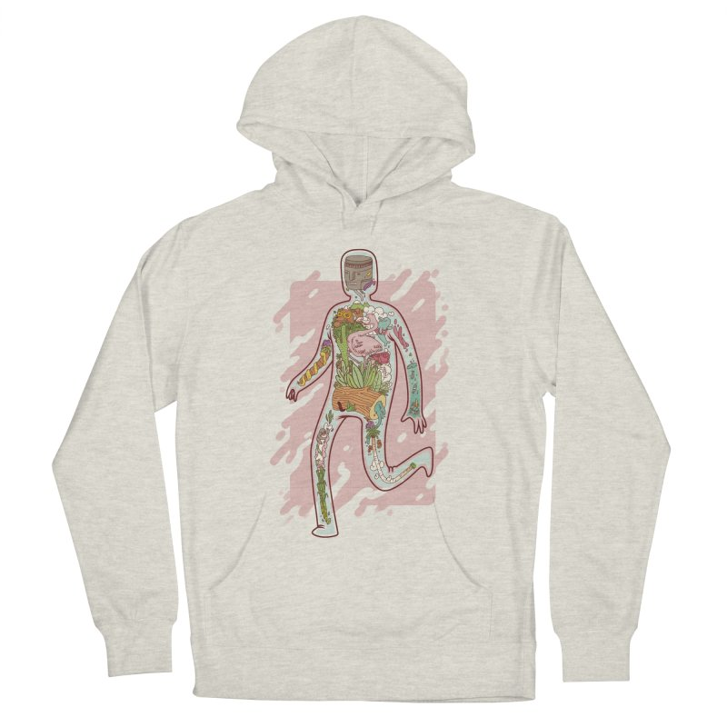 Nature Inside Men's Pullover Hoody by justalgo's Artist Shop