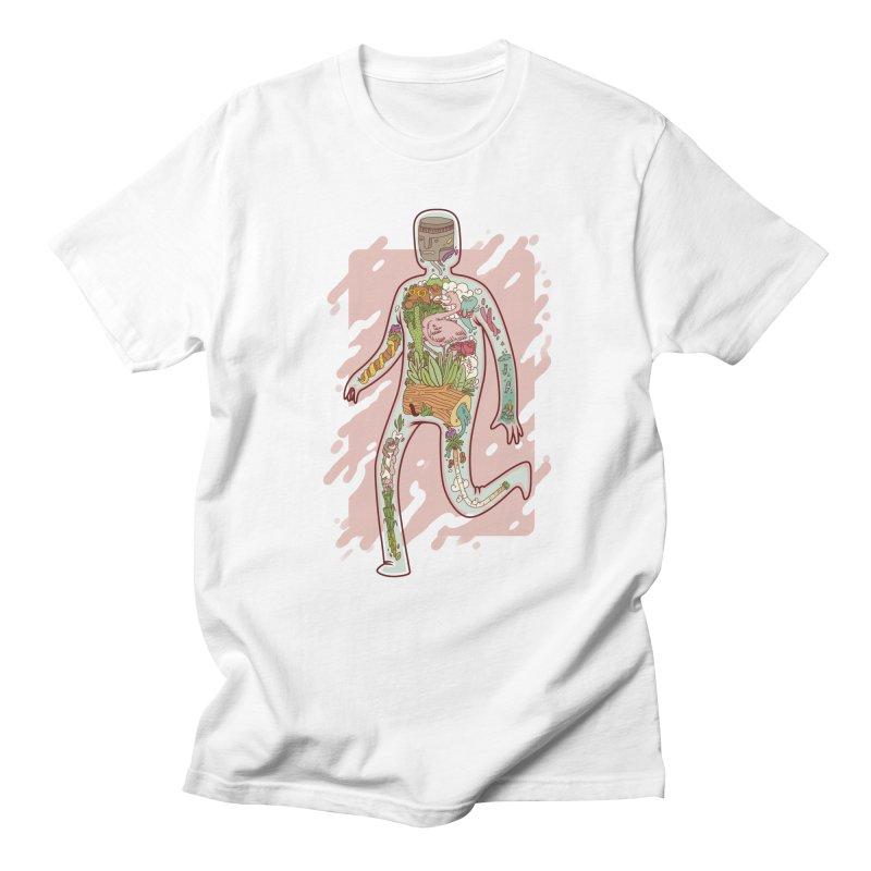Nature Inside Men's T-shirt by justalgo's Artist Shop