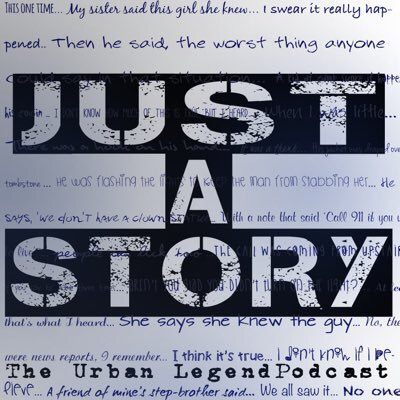 Just A Story: The Urban Legend Podcast's Shop Logo