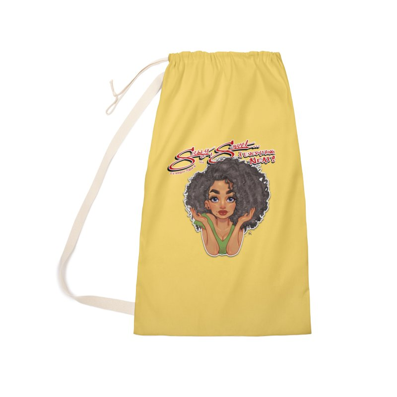 Sassy and Sweet Accessories Laundry Bag Bag by Justifiable Concepts Apparel and Goods