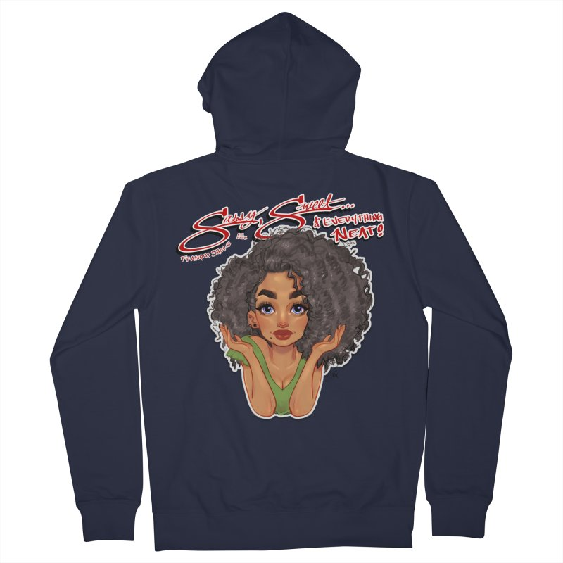Sassy and Sweet Women's French Terry Zip-Up Hoody by Justifiable Concepts Apparel and Goods