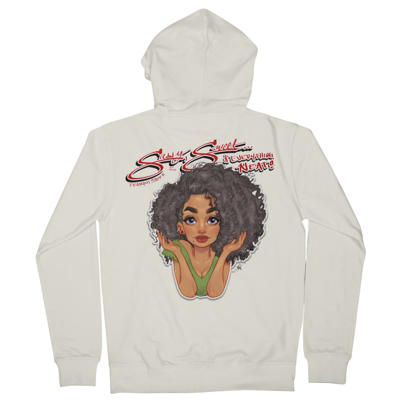 Sassy and Sweet Men's French Terry Zip-Up Hoody by Justifiable Concepts Apparel and Goods