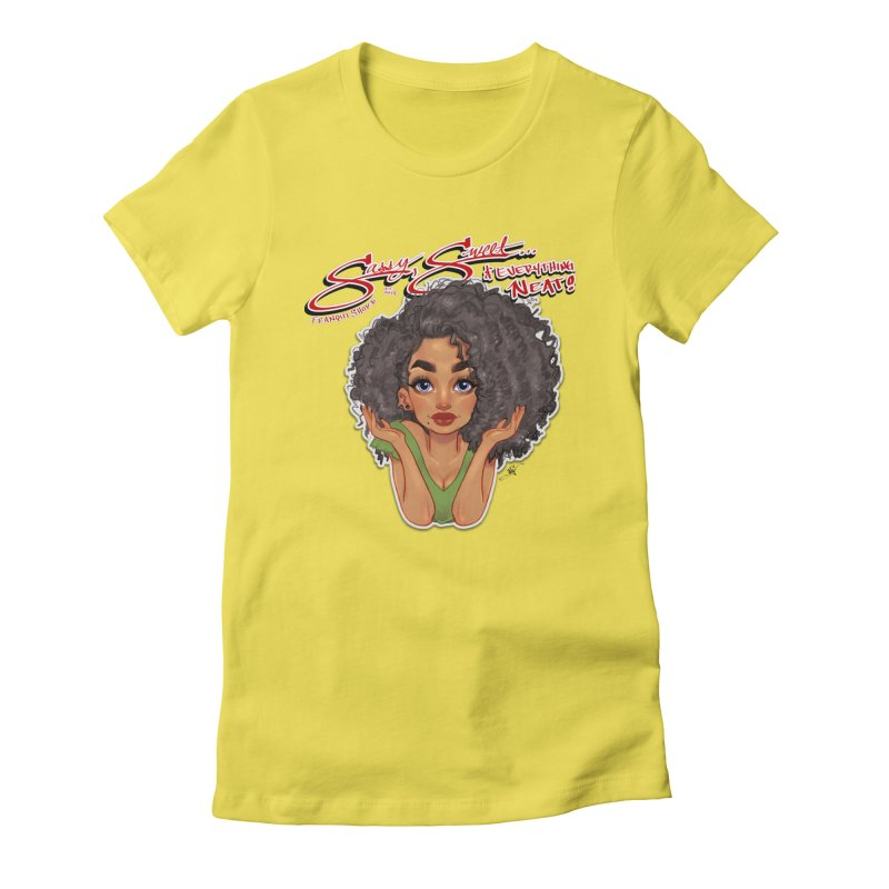 Sassy and Sweet Women's T-Shirt by Justifiable Concepts Apparel and Goods